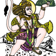 15 Aprile 2014: Hanuman Jayanti